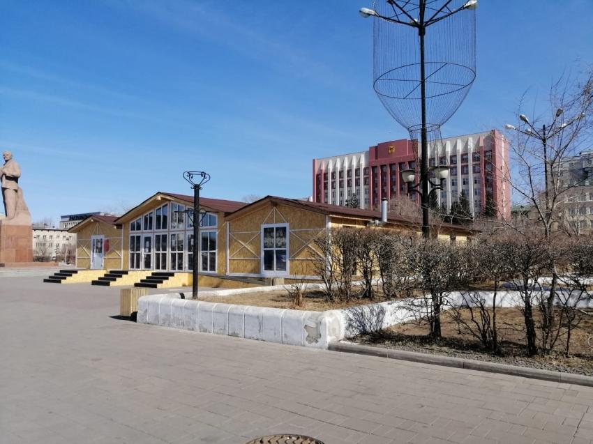 Туристский информационный и визовый центры начнут работу на площади Ленина в Чите с 1 мая