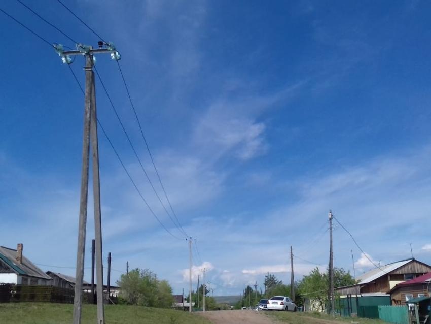 Энергетики построили новую линию электропередачи для моностационара в Нерчинске