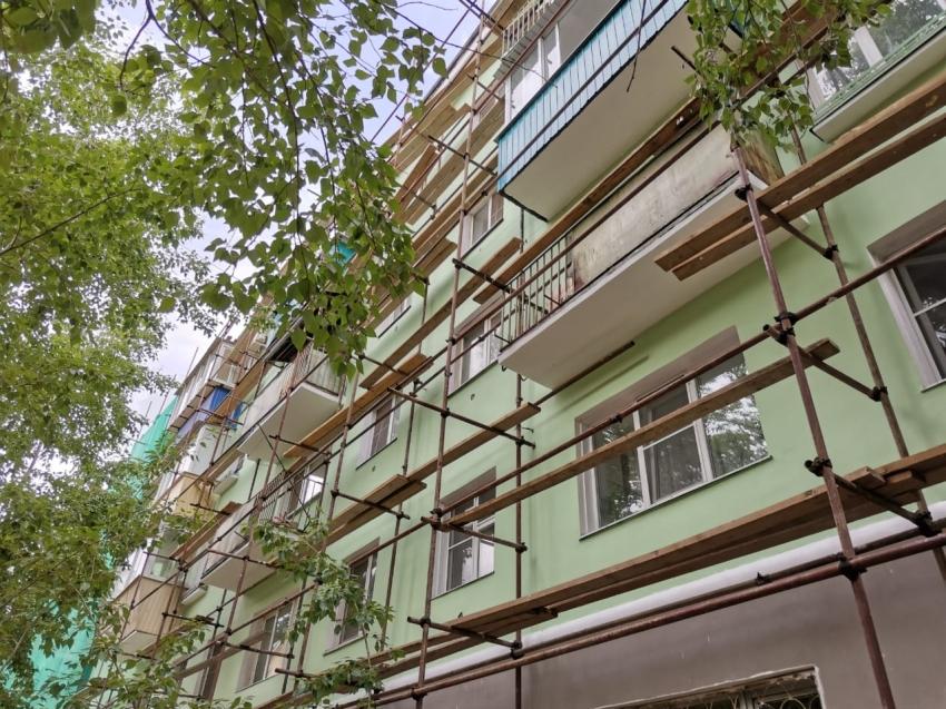 Разноцветные хрущевки: фасады Забайкальских домов станут ярче