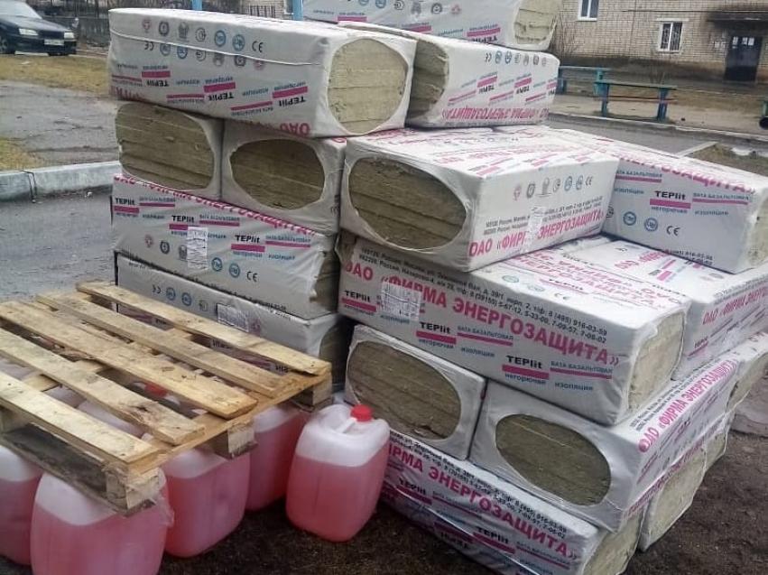 Стройматериалы для восстановления кровли дома доставили в Могочу