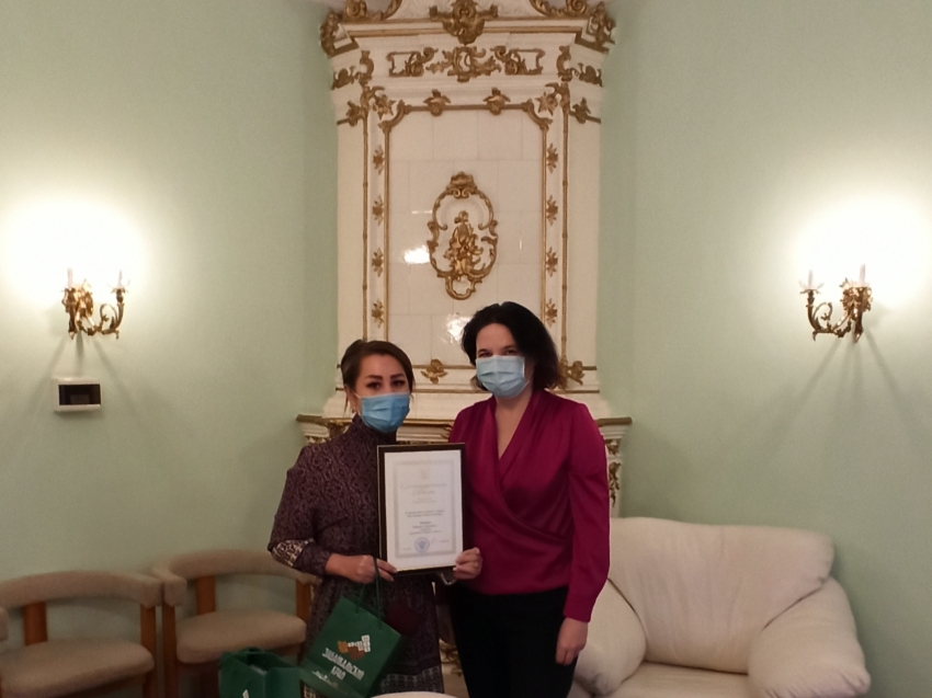 Вручение Благодарственных писем Губернатора Забайкальского края и памятных подарков