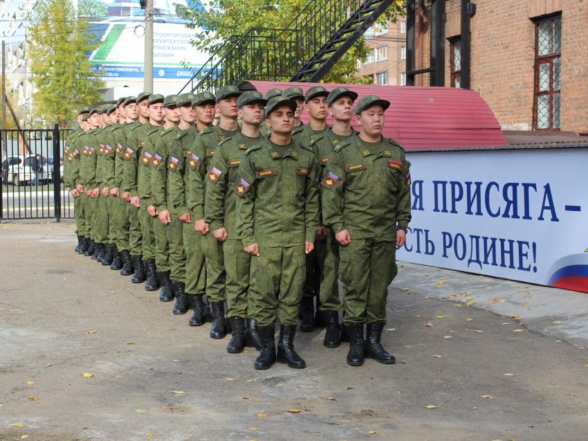 Курсанты Военного учебного центра ЗабГУ отправятся на учебные сборы