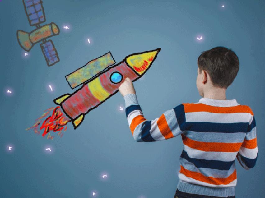 Школьников Забайкалья приглашают принять участие в акциях ко Дню космонавтики
