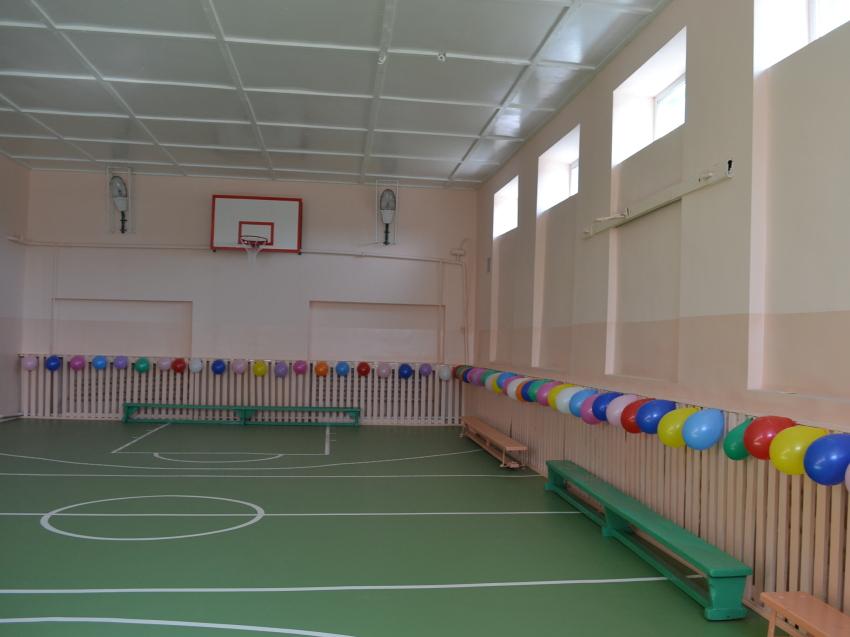Нацпроект «Образование»: В двух школьных спортзалах Забайкалья завершены ремонтные работы