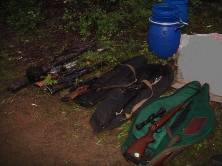 Семерых забайкальцев задержали во время ночного рейда за незаконную добычу косуль