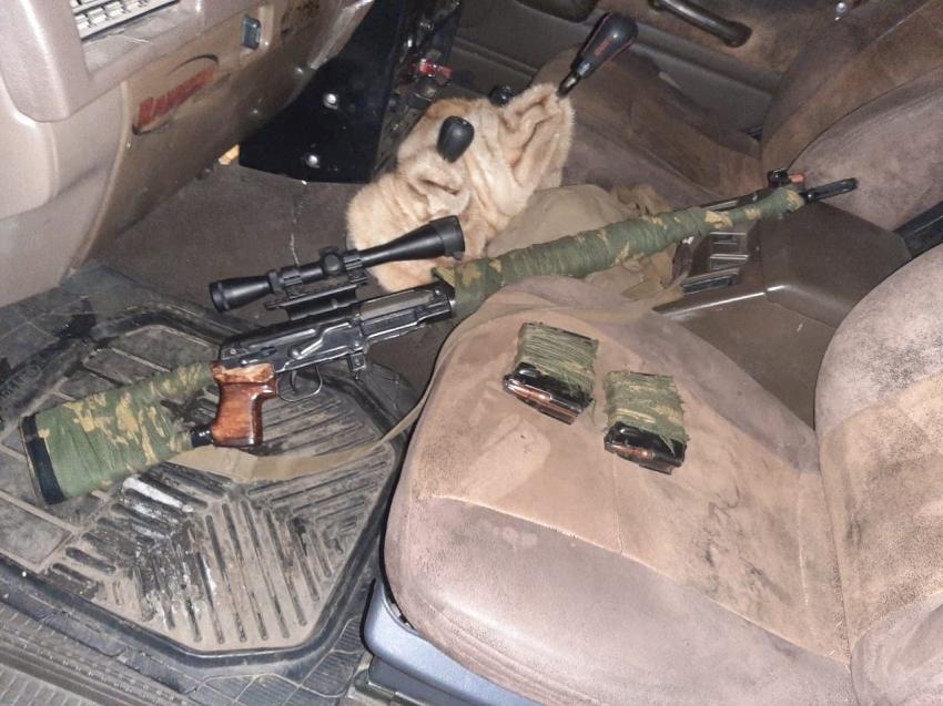 В «Ивано-Арахлейском» парке изъяли оружие