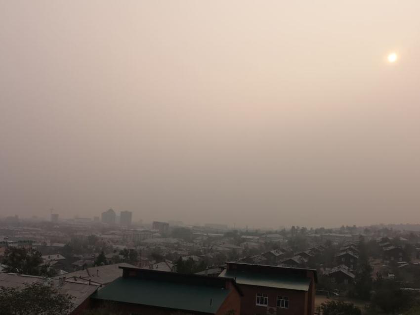 В Чите продлеваются неблагоприятные метеорологические условия