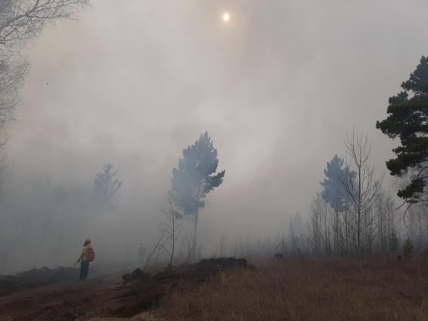 Сотрудники Забайкаллесхоза локализовали пожар в Читинском районе Забайкалья