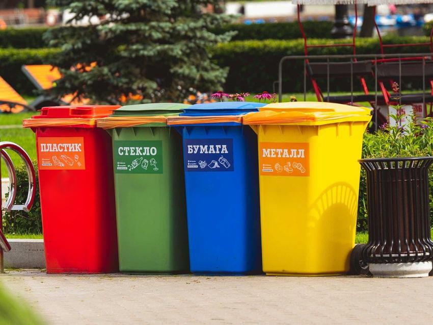 Минприроды Забайкалья запросило более 5 тысяч контейнеров для внедрения раздельного сбора мусора