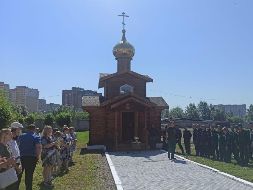 В Забайкалье открылась часовня в честь празднования 90-летнего юбилея Авиалесоохраны