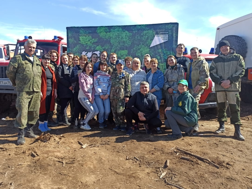 Более 300 забайкальцев присоединились к Всероссийской акции «Сохраним лес»