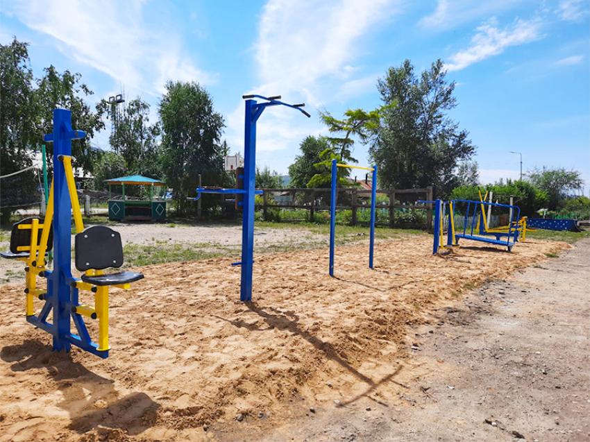 Улетовский детский центр выступил с инициативой построить многофункциональную спортплощадку