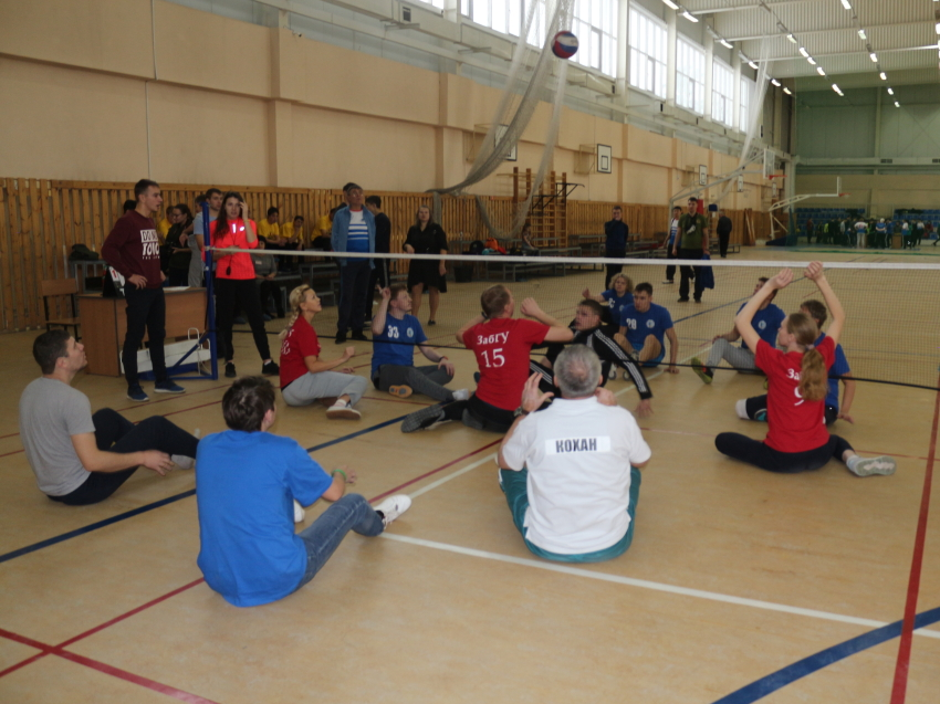 Краевой фестиваль по паралимпийским и адаптивным видам спорта «Инклюзив-спорт» прошел в Чите в минувшие выходные