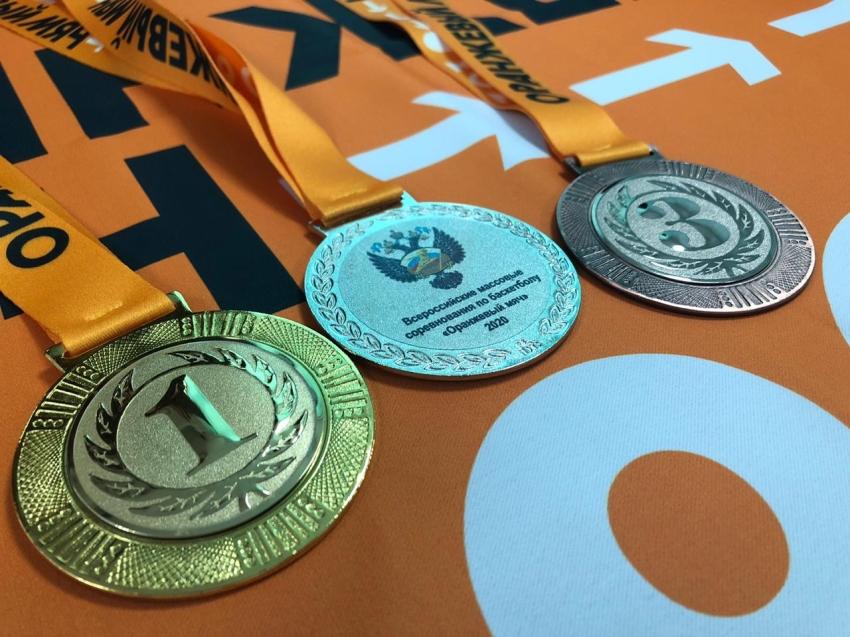В Забайкалье поступила сувенирная продукция на Всероссийские соревнования «Оранжевый мяч»