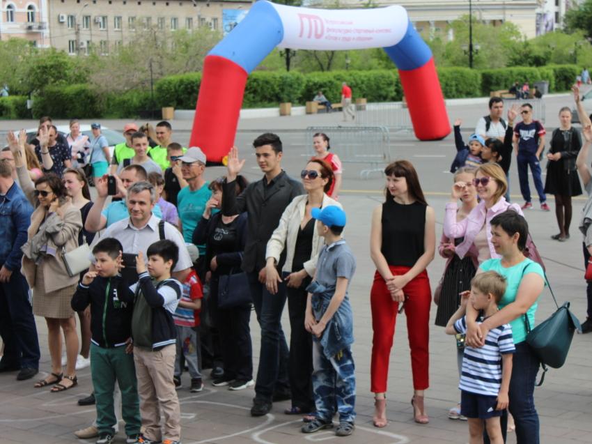 Олимпийская зарядка пройдет в краевой столице 8 августа