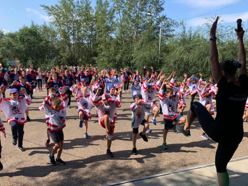 Еженедельная фитнес-зарядка пройдет в субботу в парке Одора