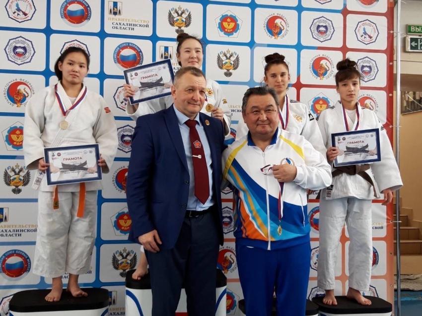 Еще одну медаль завоевала спортсменка из Забайкалья в Южно-Сахалинске