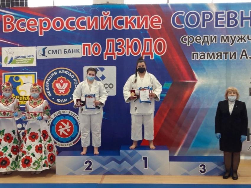 Золото завоевала дзюдоистка из Забайкалья в Новокузнецке