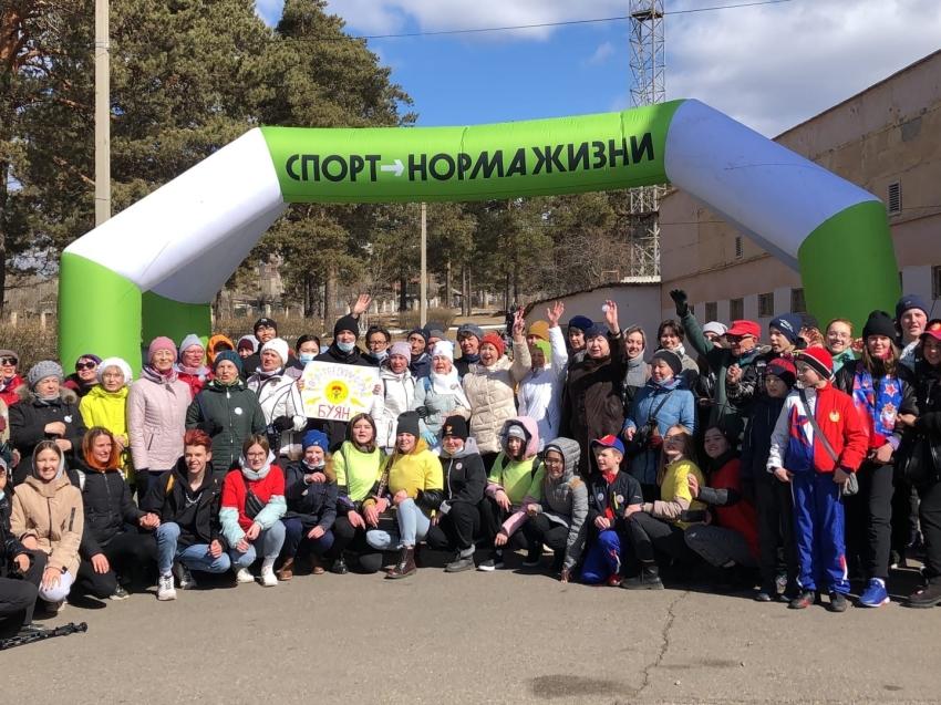 Более 300 забайкальцев приняли участие в акции «10 000 шагов к жизни»