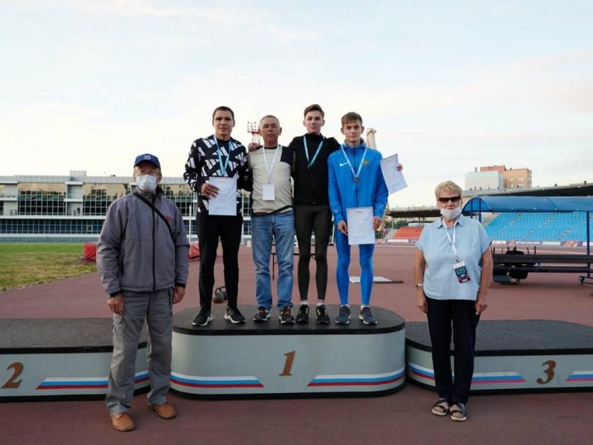 Забайкальский спортсмен привёз золотую медаль первенства России по лёгкой атлетике