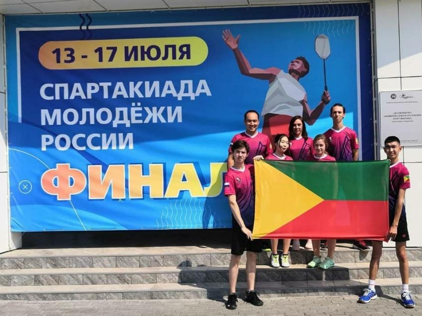 Забайкальцы выступили на турнире по бадминтону в Казани