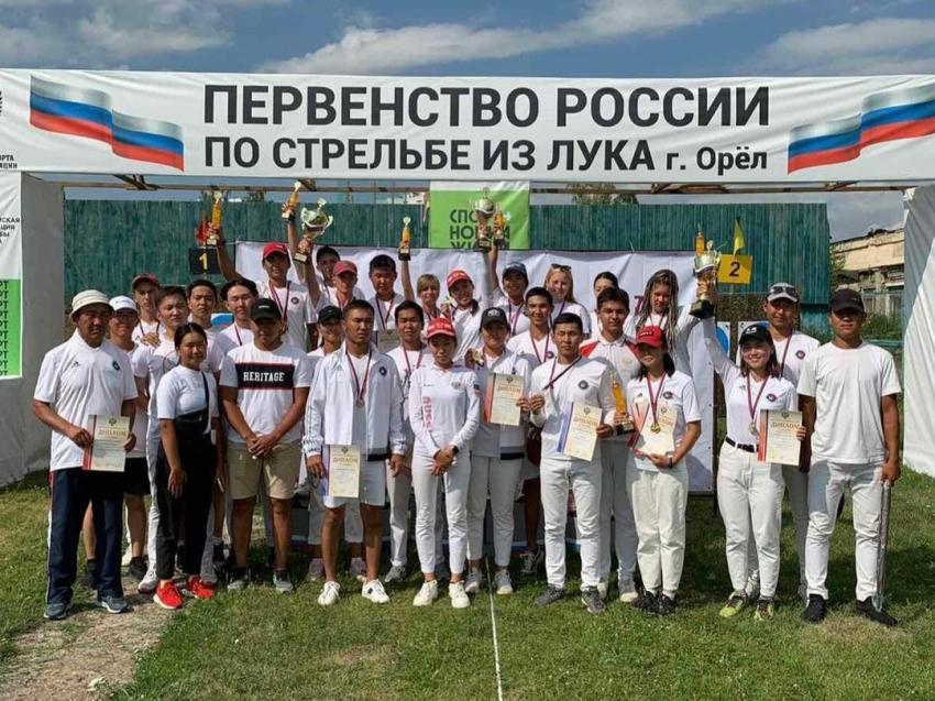 Забайкальские спортсмены завоевали 14 медалей на первенстве России по стрельбе из лука в Орле