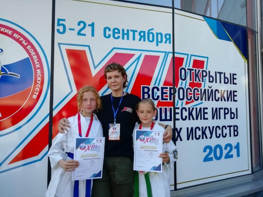 Читинские спортсменки завоевали серебро и бронзу на Всероссийских юношеских играх боевых искусств