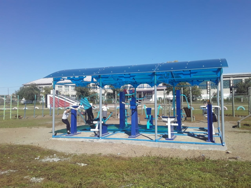 Тренажёрный комплекс установлен в Приаргунском районе