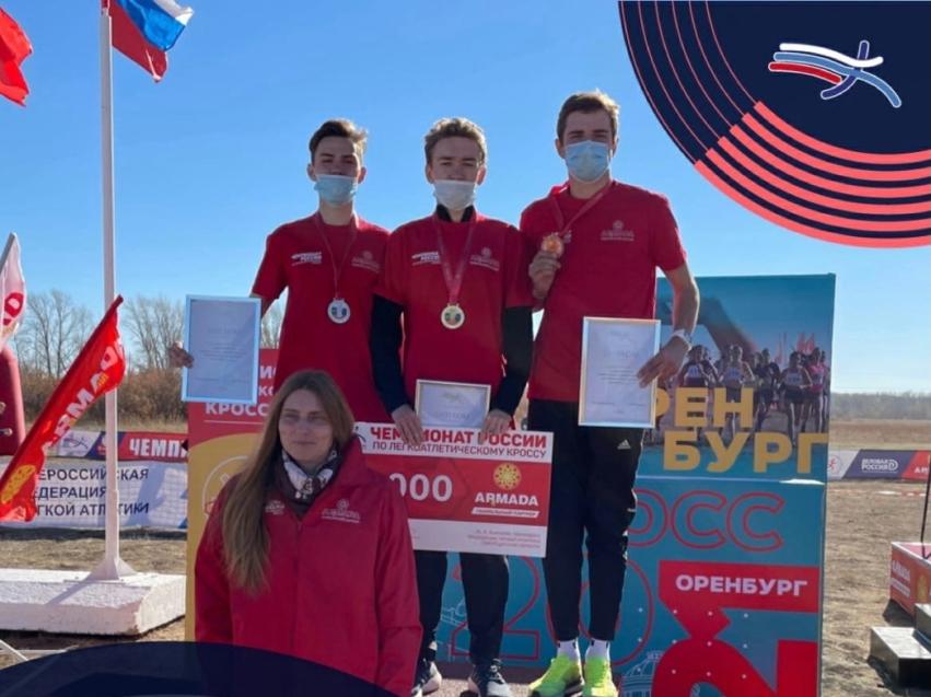 Забайкальские спортсмены заняли второе место на чемпионате России по кроссу