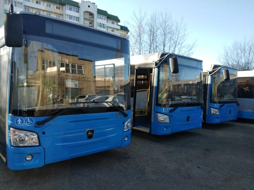 Новые большие автобусы, приобретенные в рамках ЦЭР для Читы, скоро выйдут на маршруты