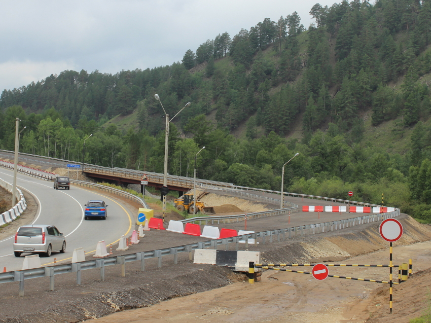 Движение на мосту через реку Кручина в Читинском районе с 31 июля переведут на объездную дорогу