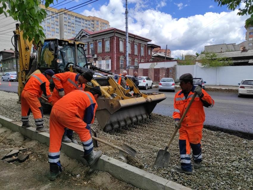 В столице Забайкалья проверили улицы, где стартовал ремонт по «дорожному» нацпроекту
