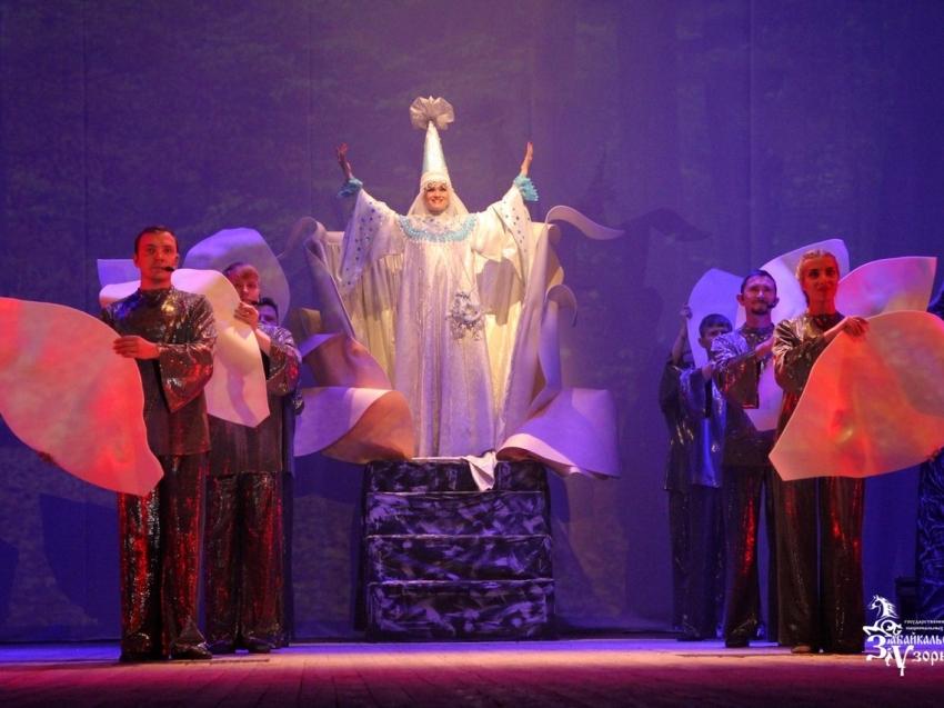 «Забайкальские узоры» представили новый спектакль