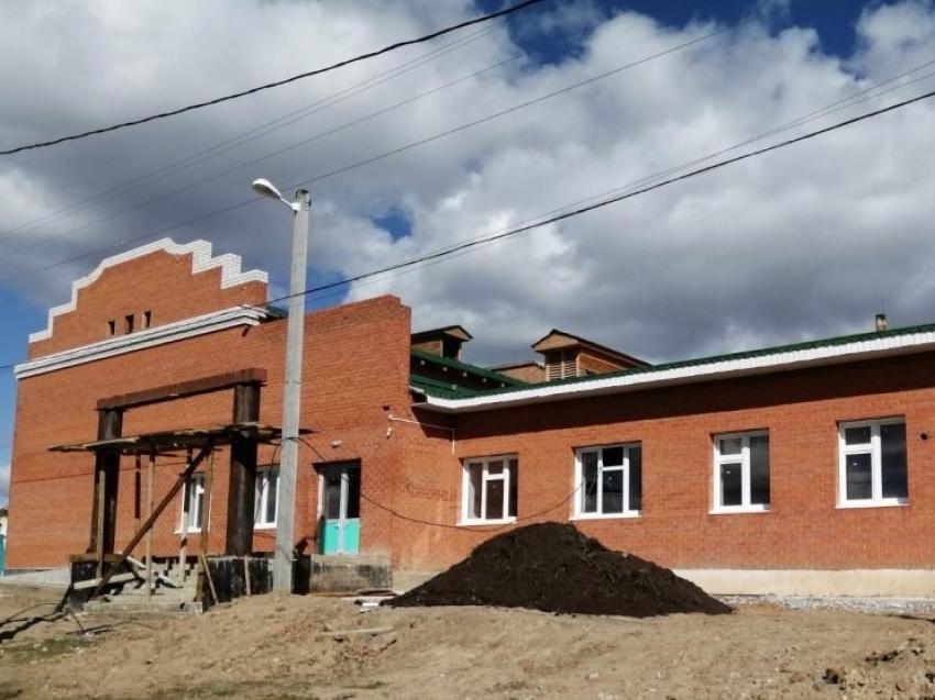 Новый Дом культуры готовится к открытию в забайкальском селе Цаган-Челутай