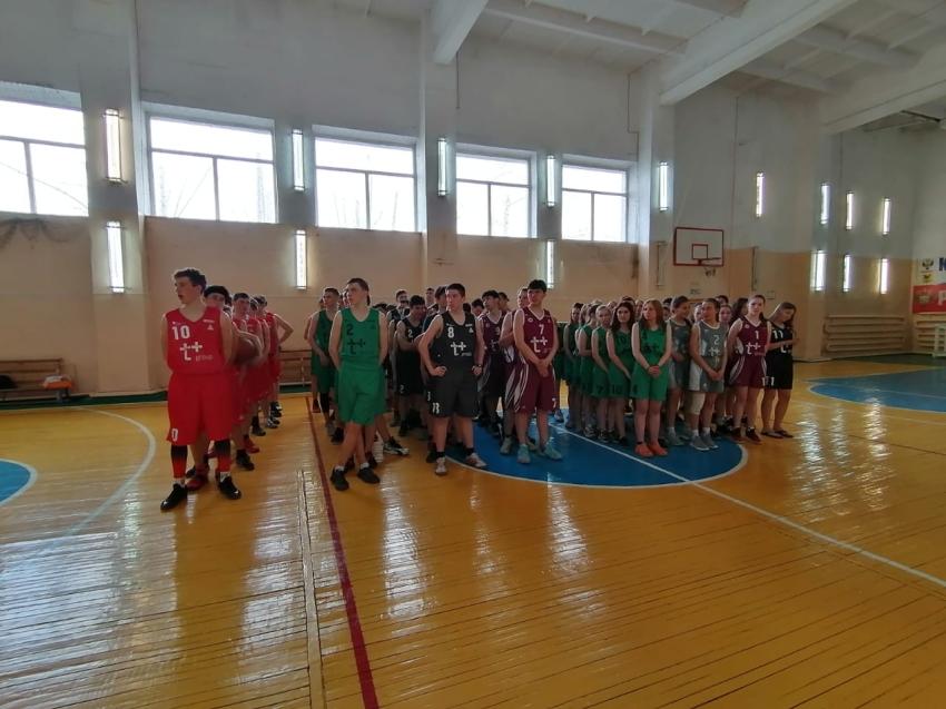 Турнир по баскетболу среди мужских команд на кубок А.Замолоцкого