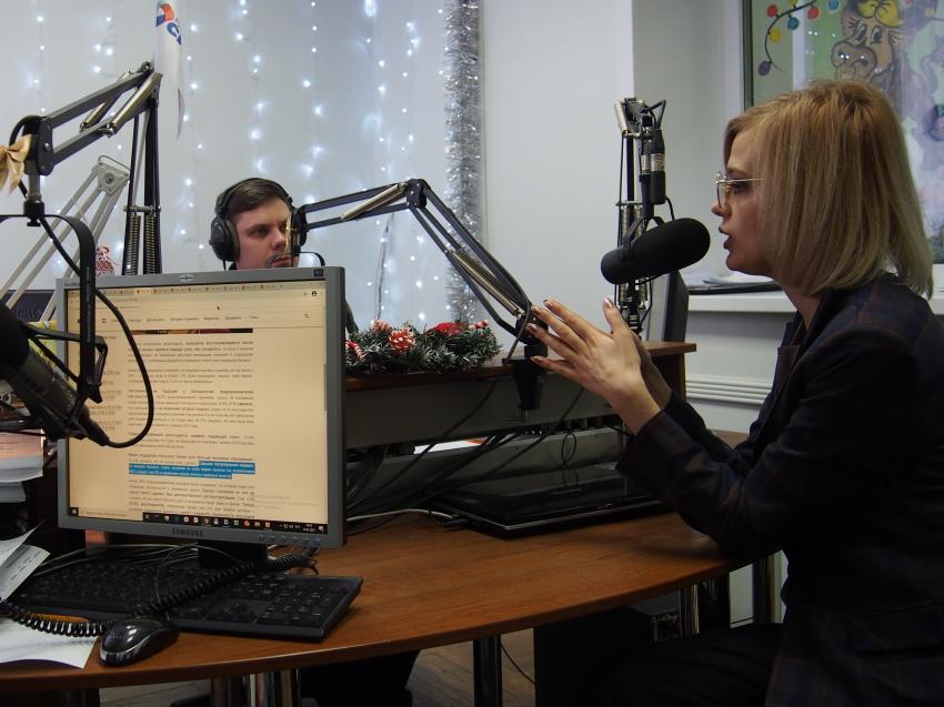 Бизнес-защитник рассказала о своей работе слушателям «Радио Сибирь»