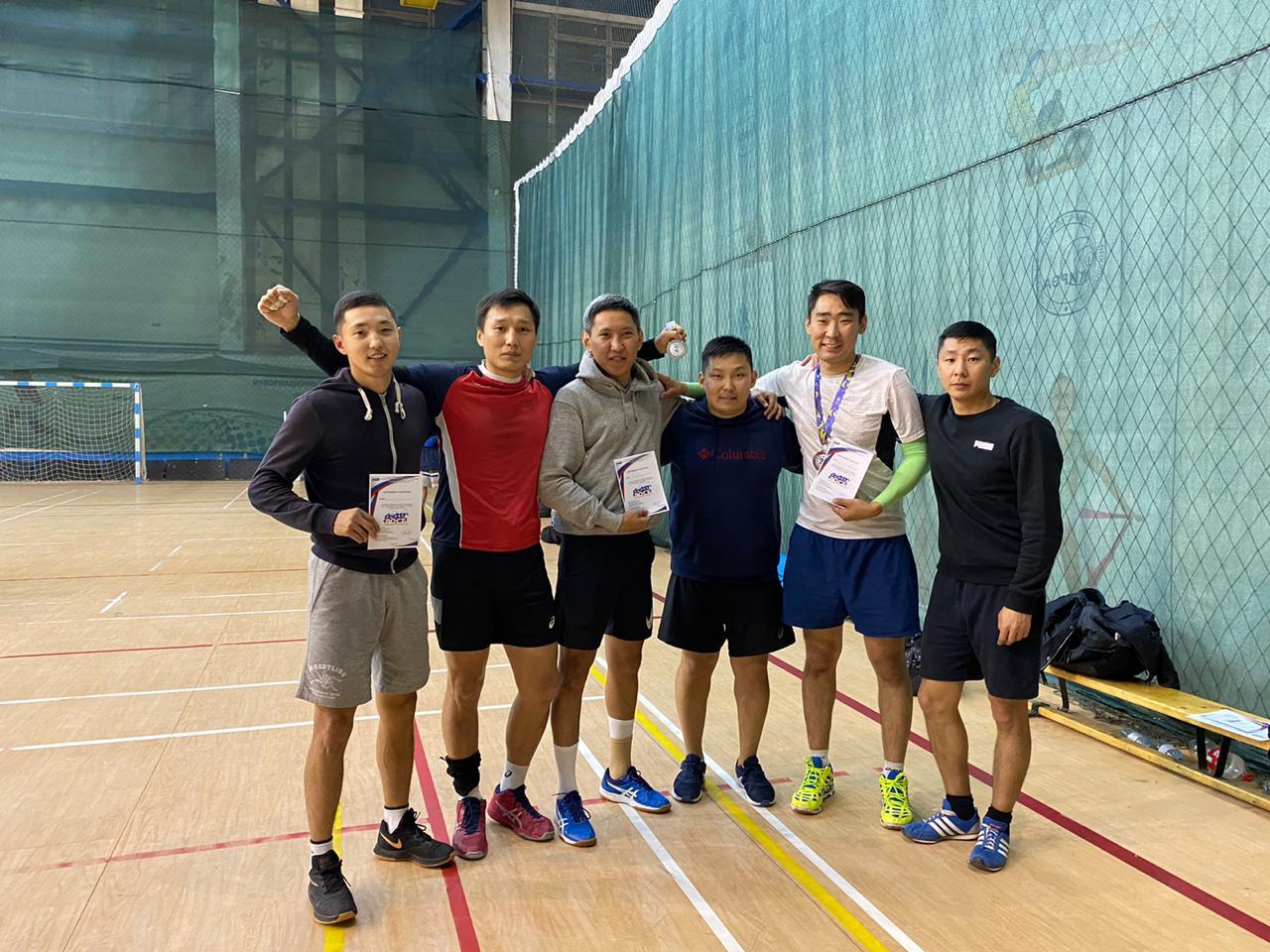 Команда из Забайкалья заняла второе место на турнире по волейболу
