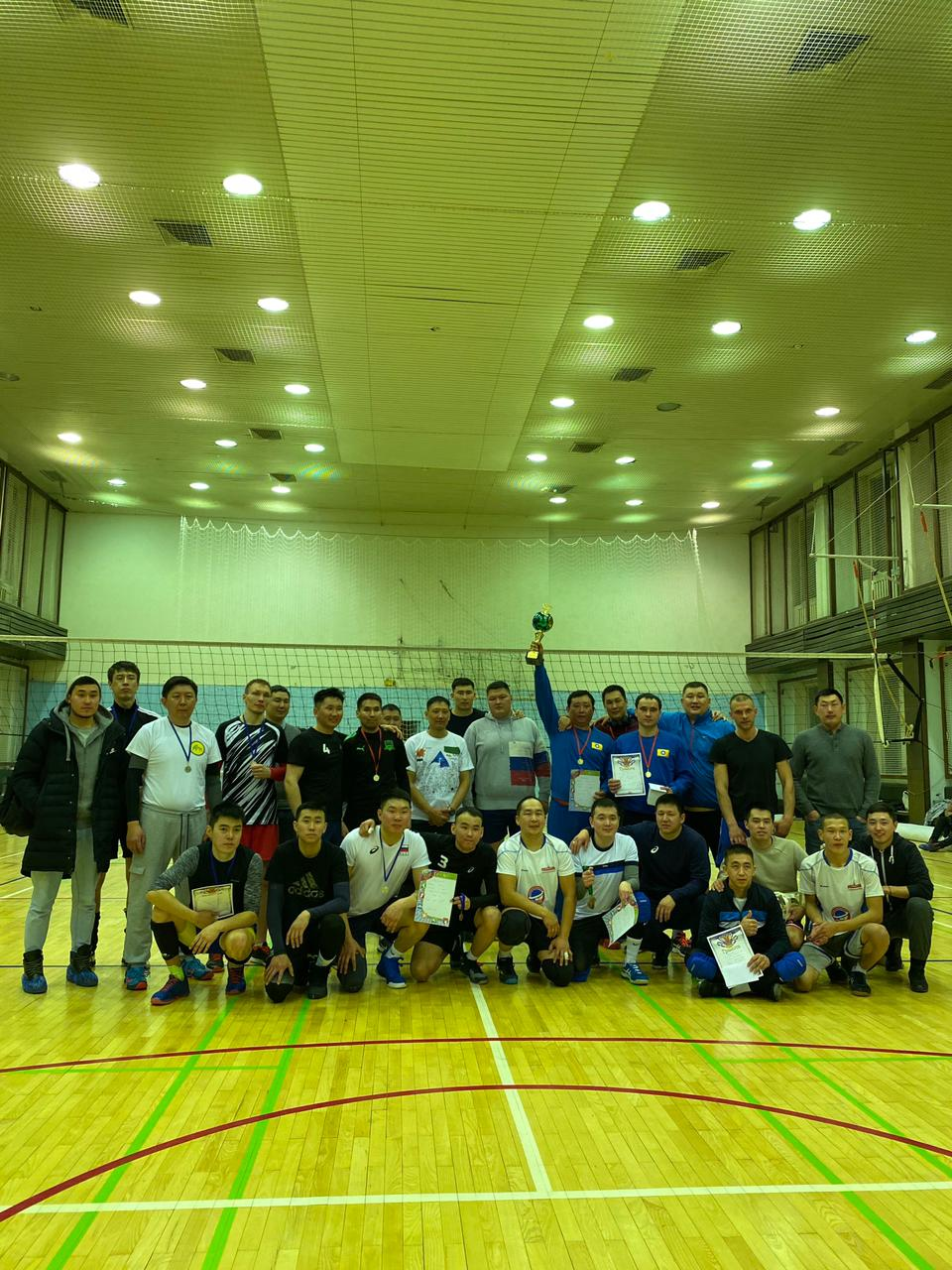 В Москве состоялся турнир по волейболу в честь праздника Белого месяца