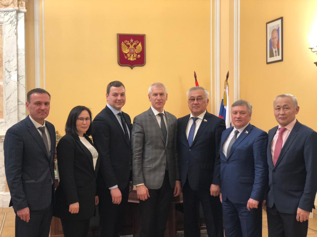 Делегация Забайкальского края обсудила в Министерстве спорта строительство спортивных сооружений