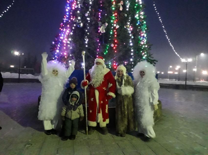 Открытие Новогодней елки в п.Новопавловка