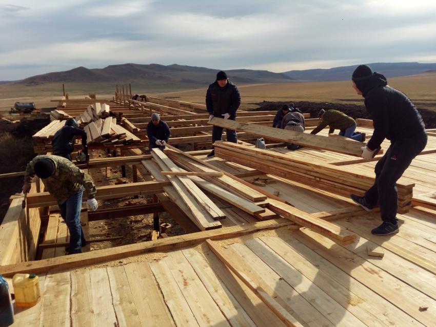 Специалисты Минсельхоза края помогают строителям восстановить стоянку в Приаргунском районе