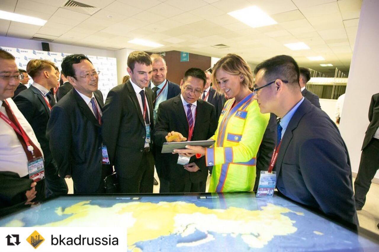 На ВЭФе представили интерактивную карту нацпроекта «Безопасные и качественные автомобильные дороги»