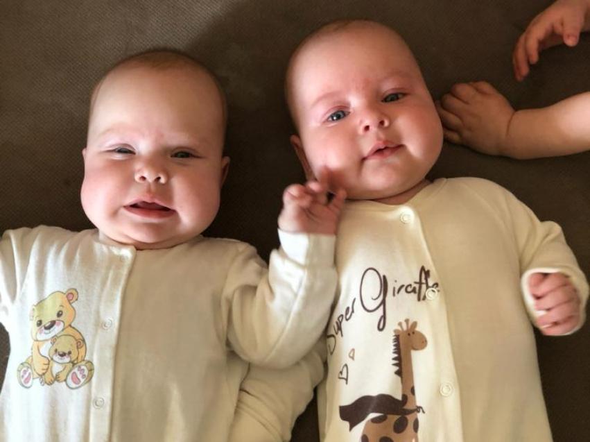 За первый квартал в Забайкалье родилось 28 двойняшек