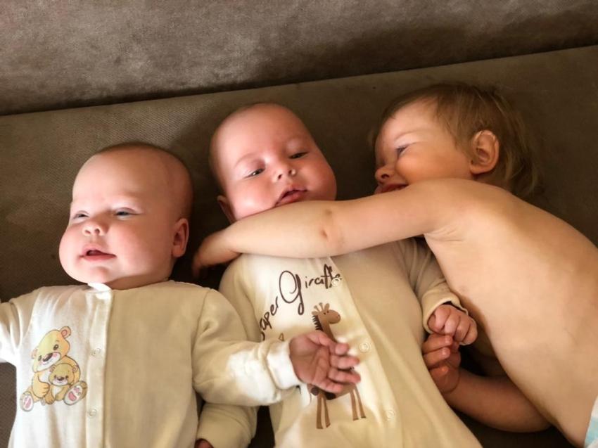 В Карымском районе зарегистрировано рождение двухсот детей