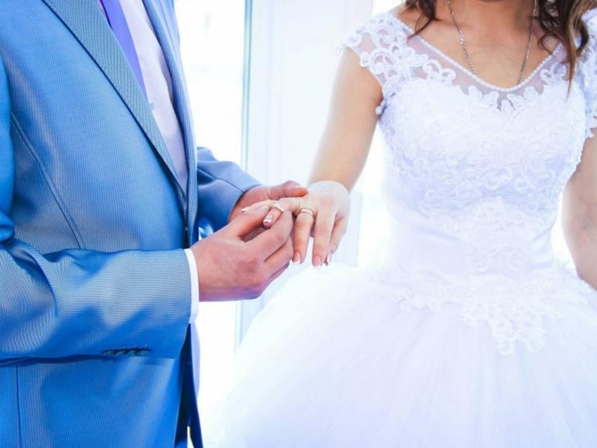 В Забайкальском крае зафиксирован рост браков по сравнению с прошлым годом